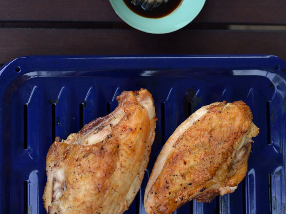 Grilled Chicken with Pomegranate Molasses