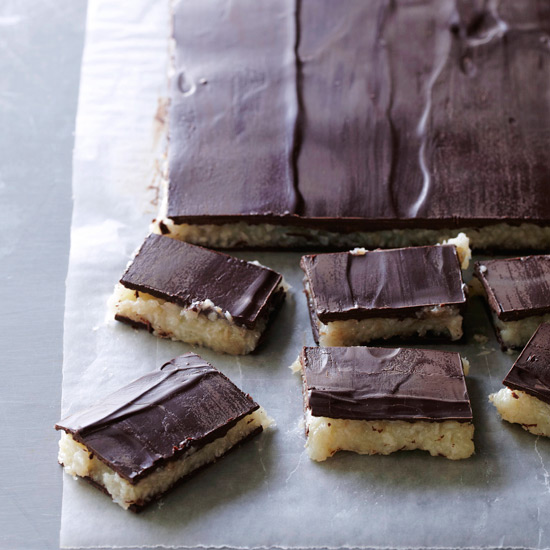 Coconut Chocolate Candy Bars