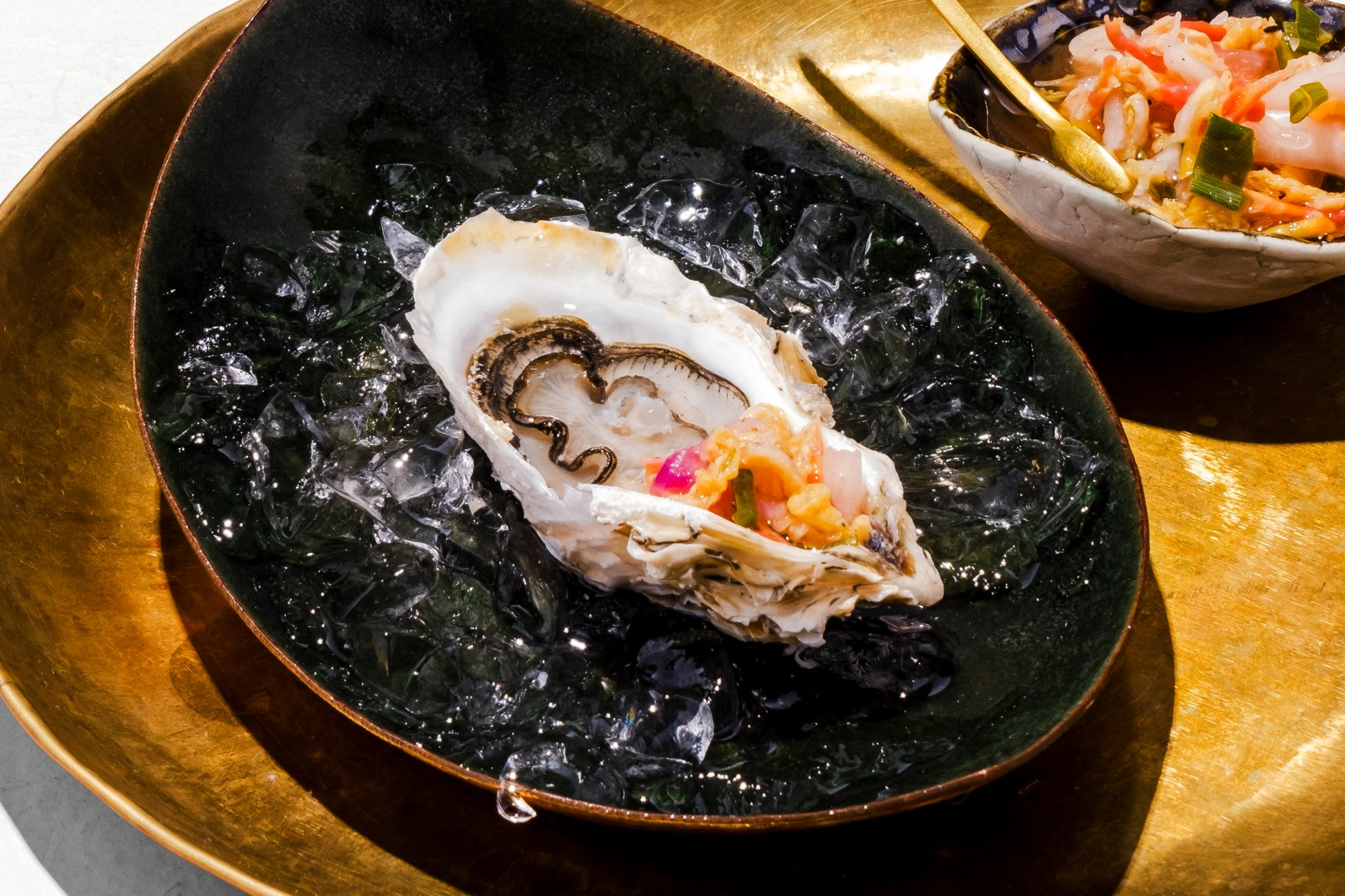 Oysters with Piklic Recipe