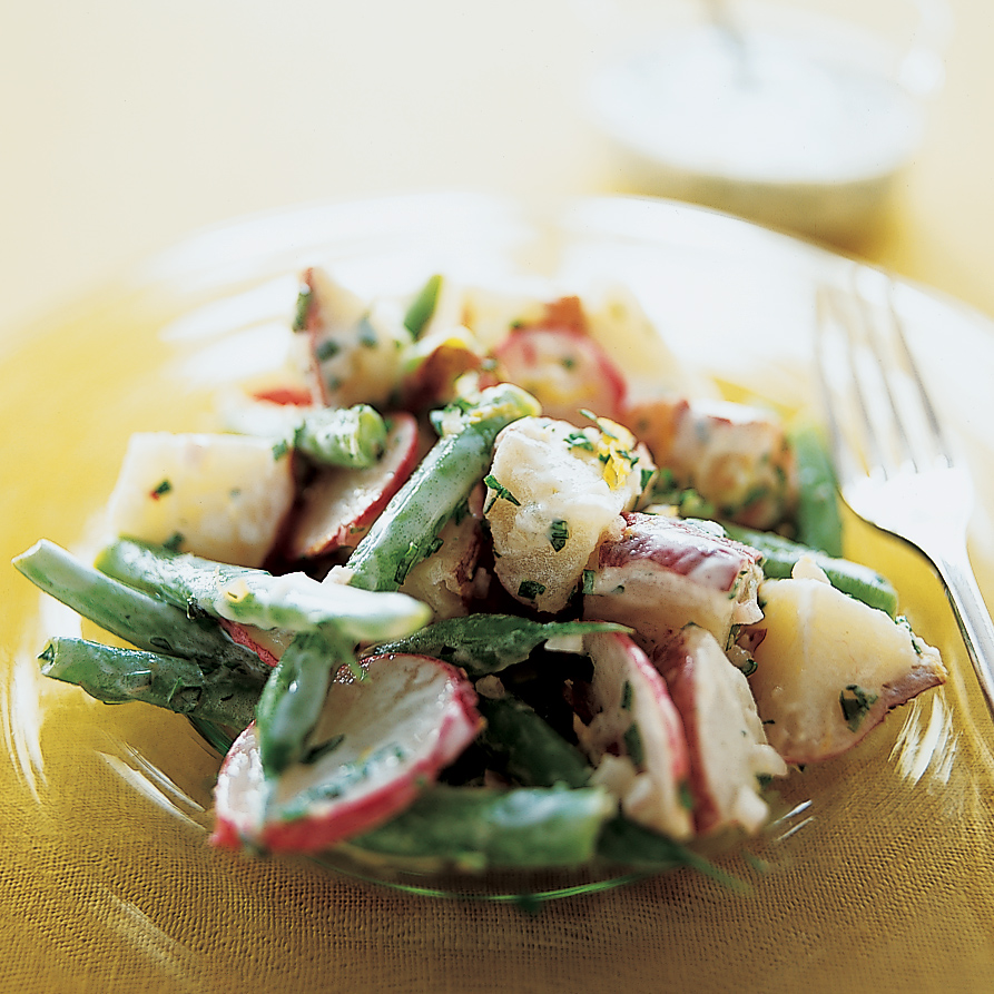 Potato Salad with Honey-Buttermilk Dressing