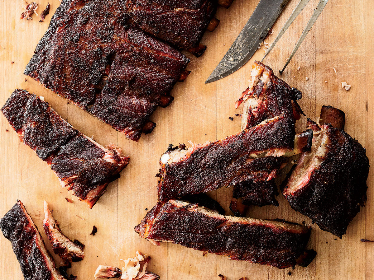Smoked St. Louis-Sytle Ribs