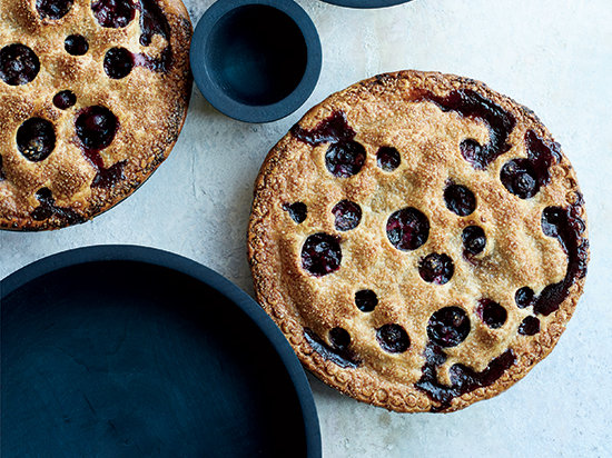 Blueberry Pie with Rye Crust