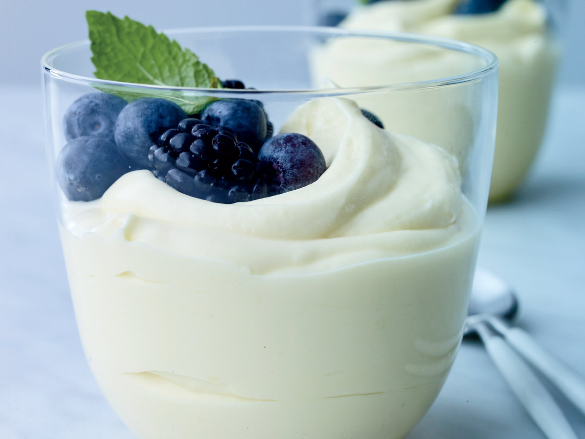 Lemon-Buttermilk Pudding