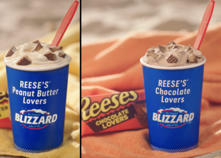 Image result for reese's peanut butter lovers blizzard