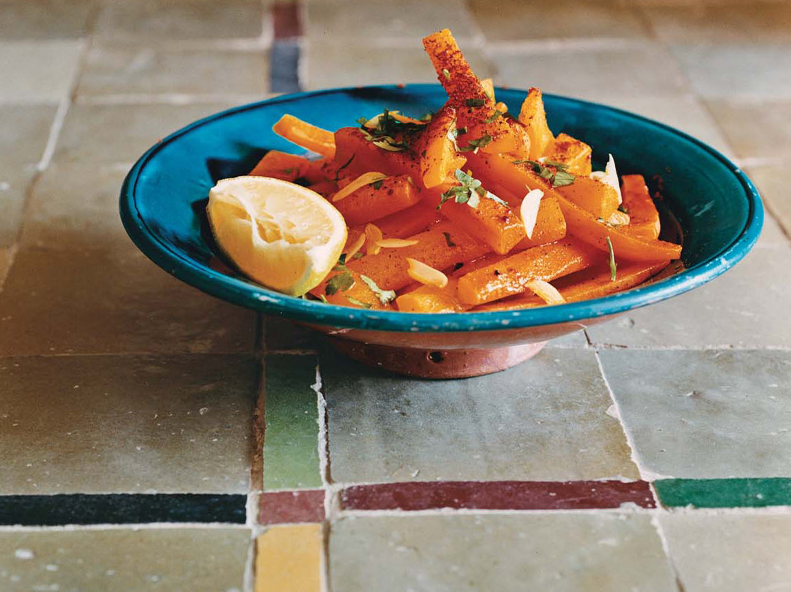 Spicy Carrots with Parsley and Cilantro