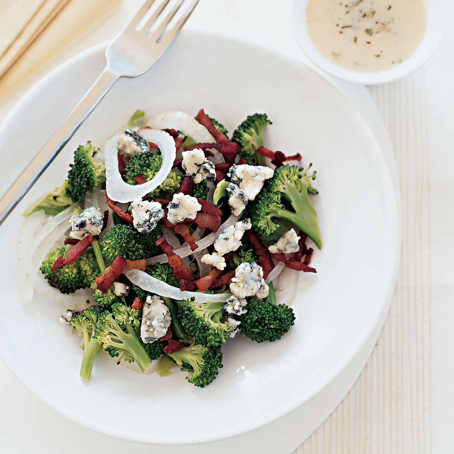 Tangy Broccoli Salad with Buttermilk Dressing