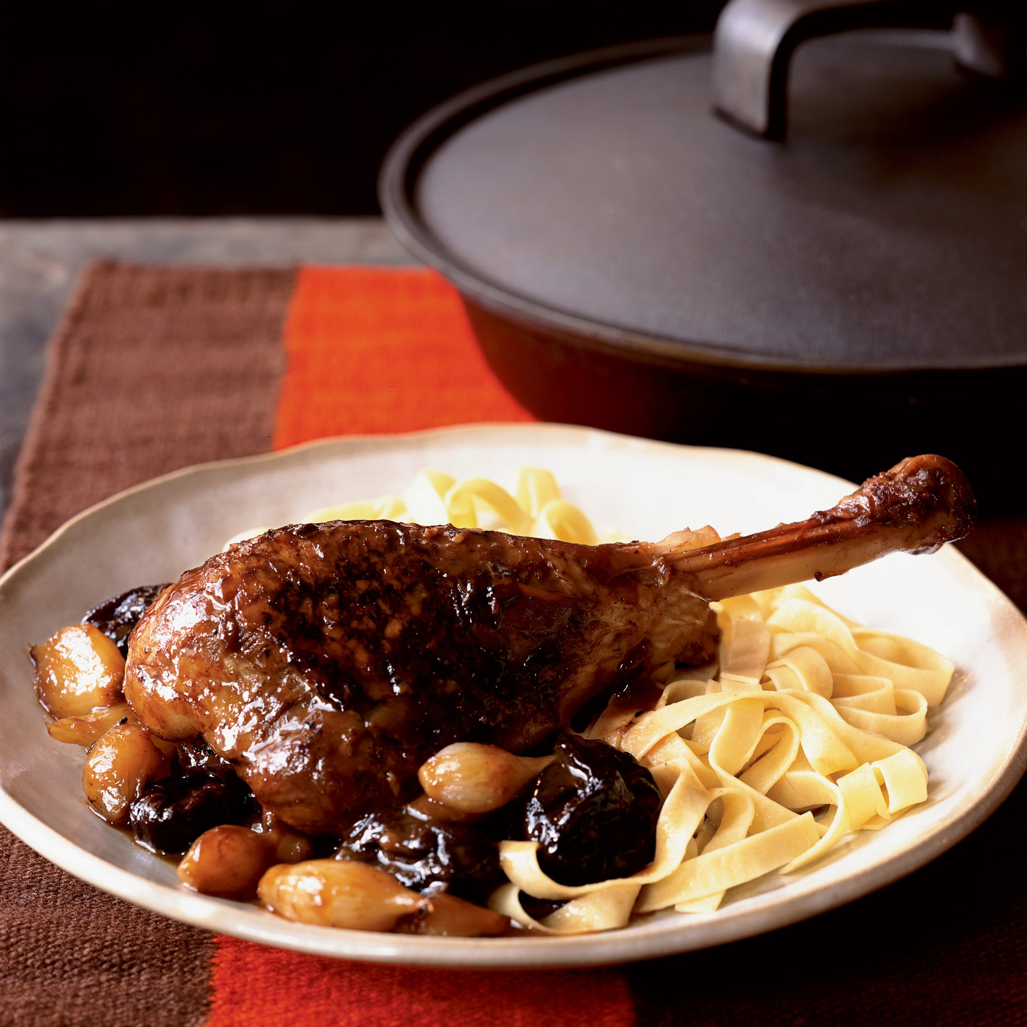 Turkey Stew with Prunes and Pearl Onions
