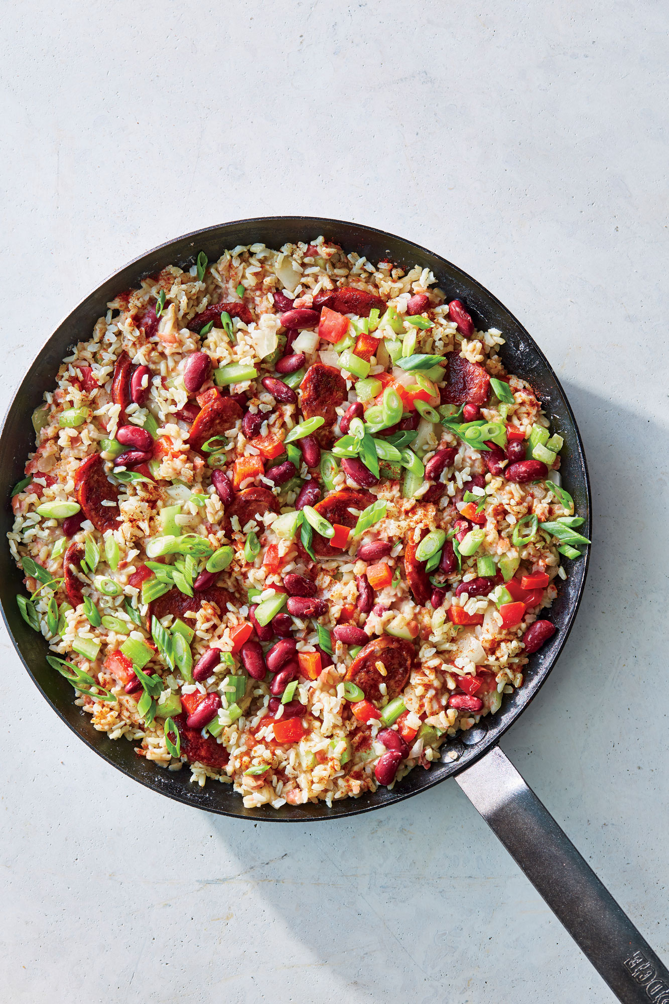 ck- Skillet Red Beans and Rice