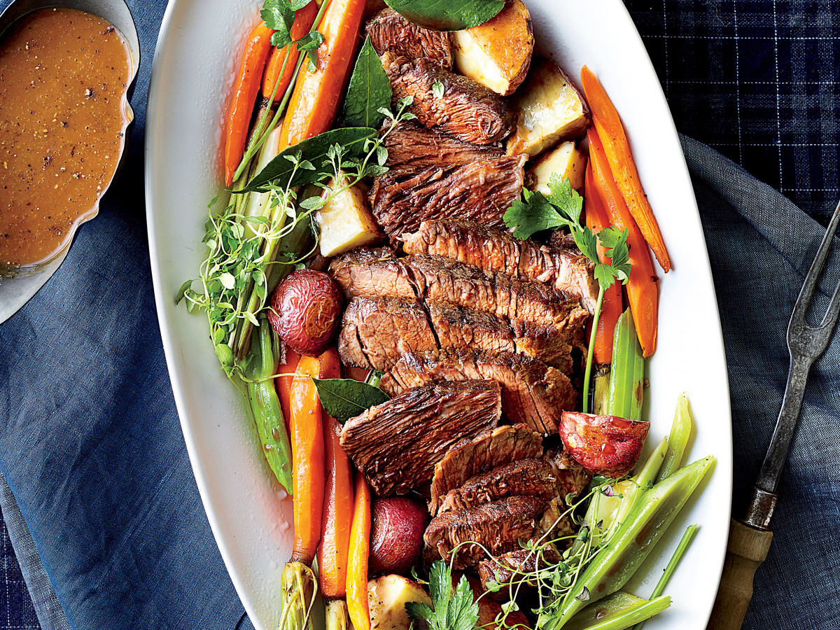 Home-Style Slow-Cooker Pot Roast
