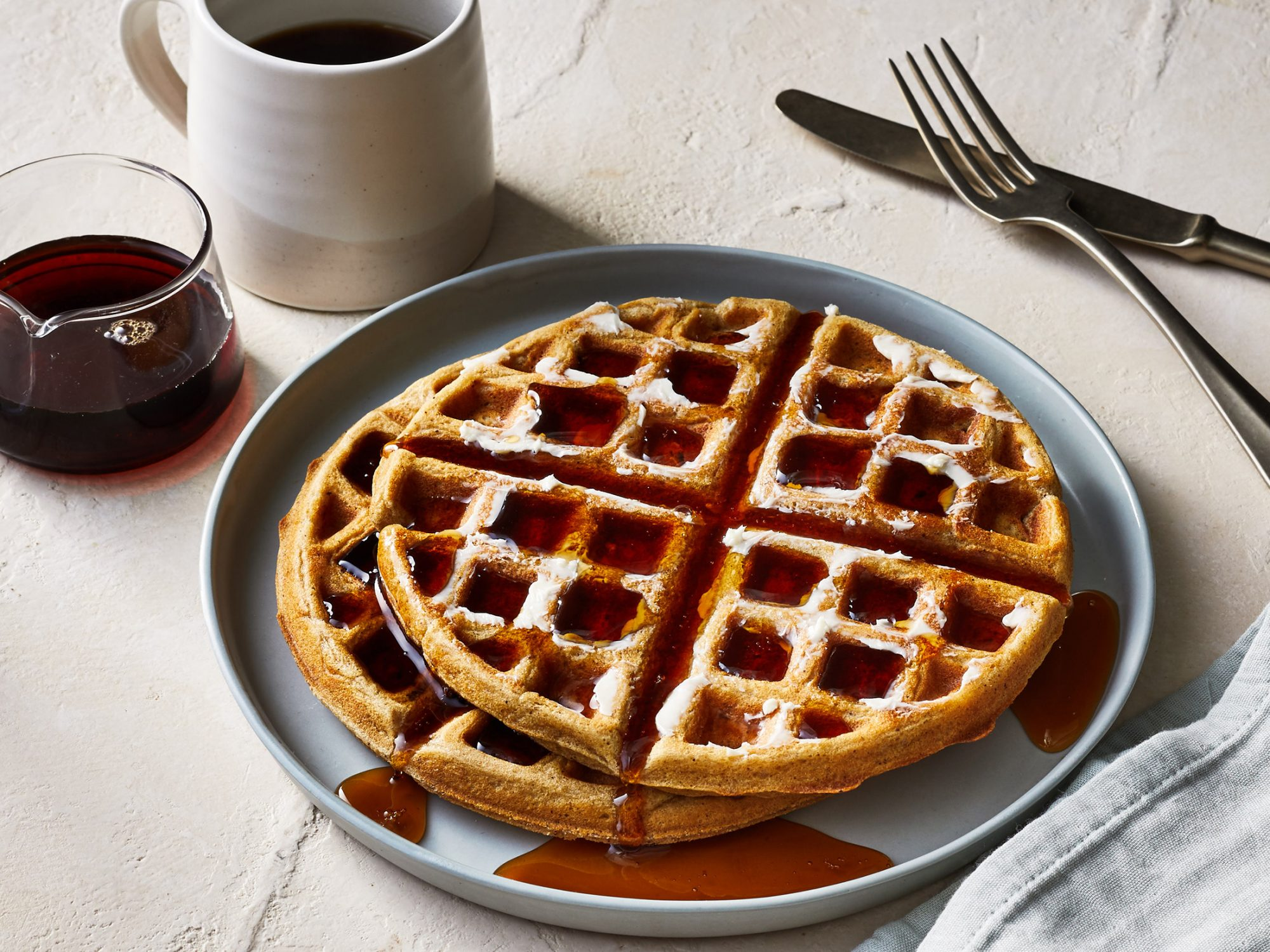 Brown Sugar-Cinnamon Waffles image