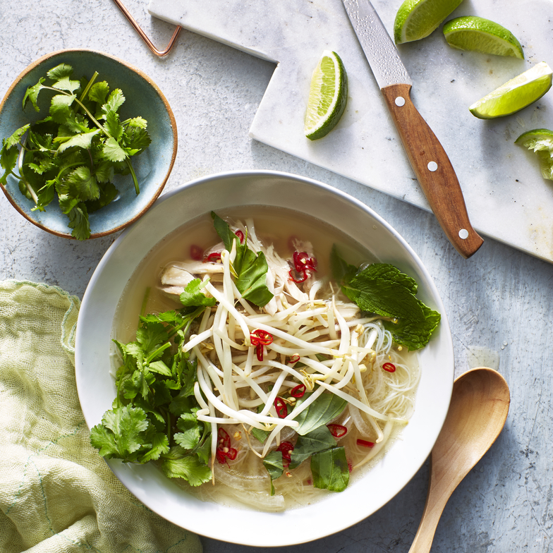 Easy Pressure Cooker Chicken Pho image