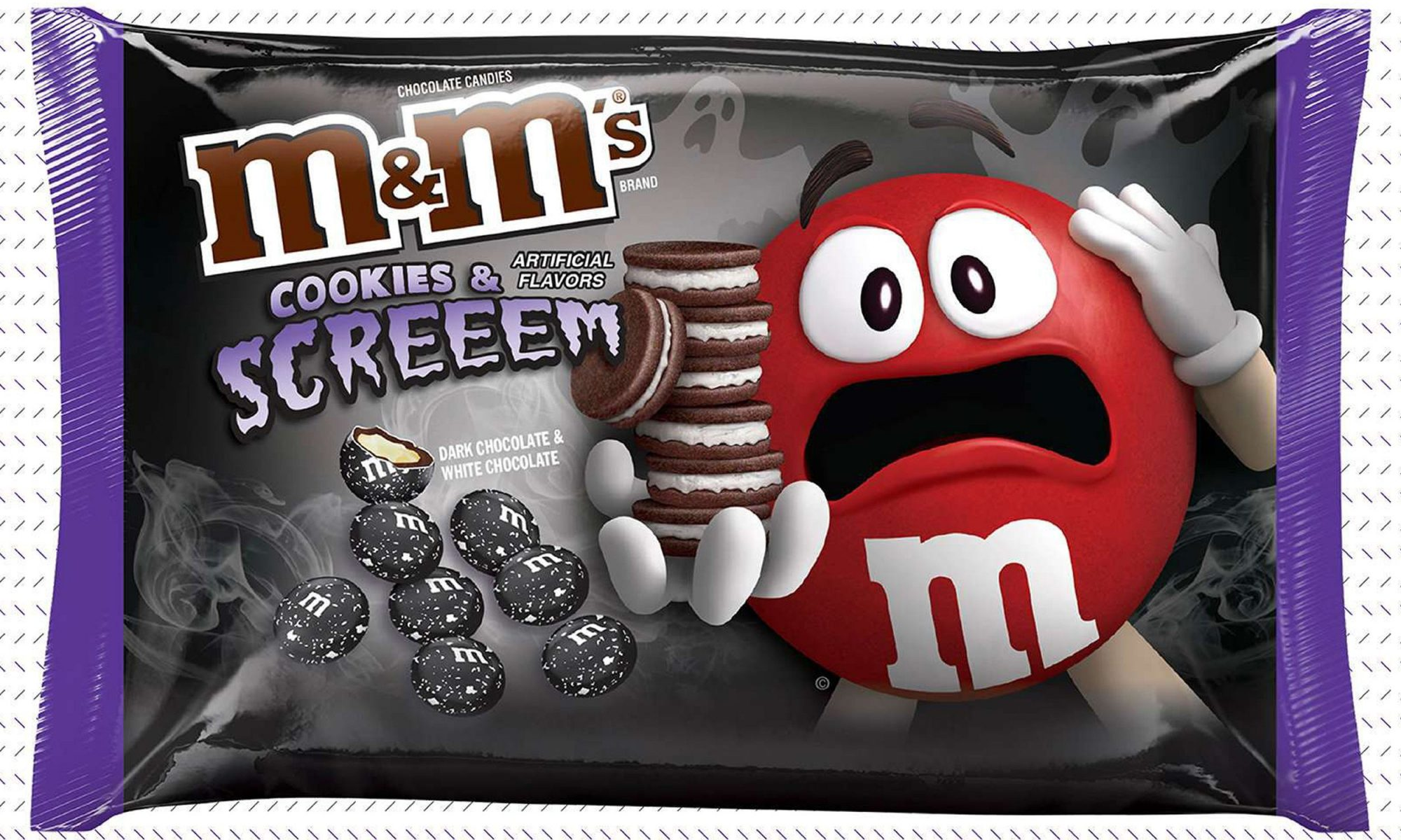 cookies and screeem m&ms
