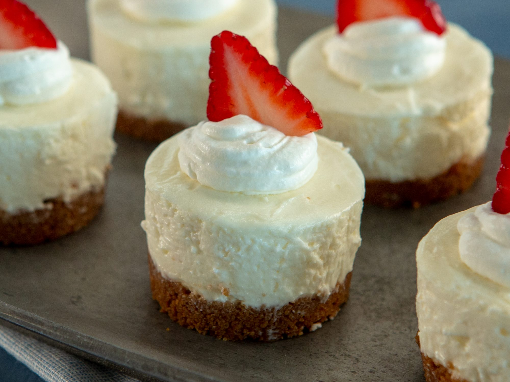 No-Bake Mini Cheesecakes image