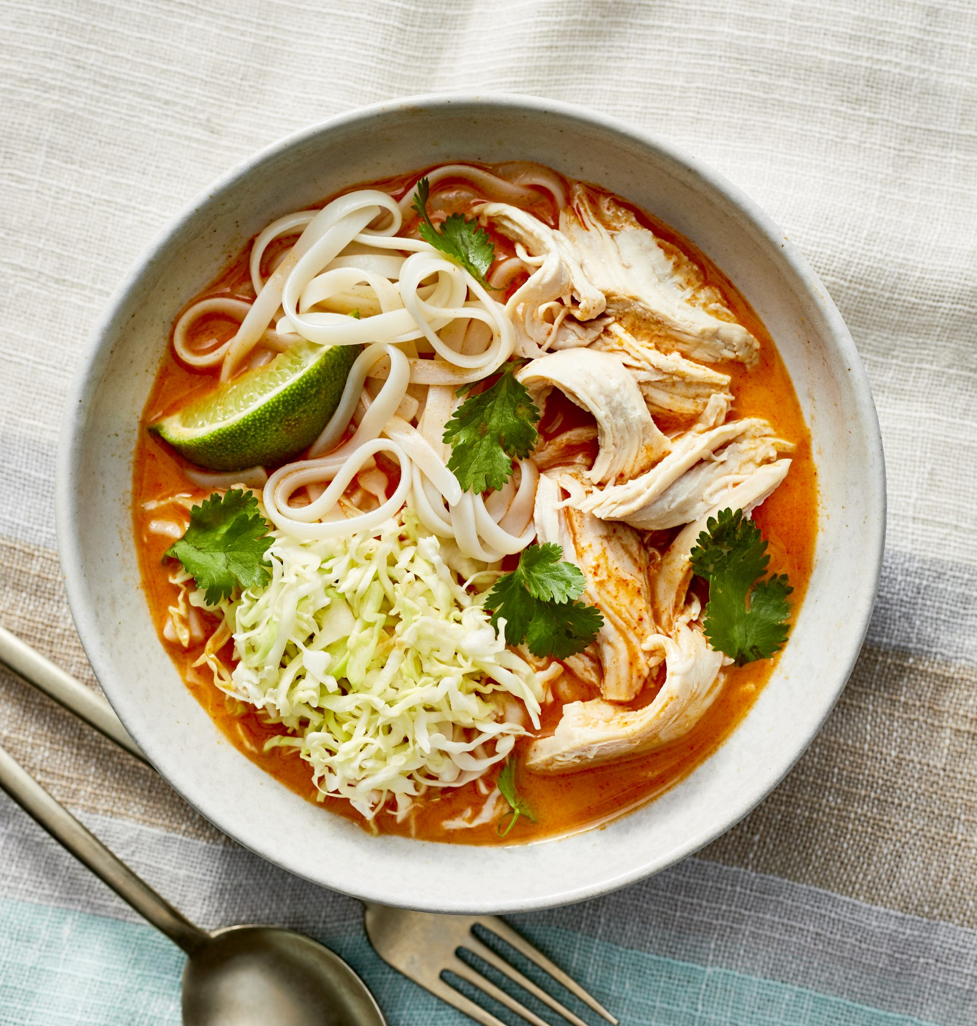 Poached Chicken Noodle Bowl image