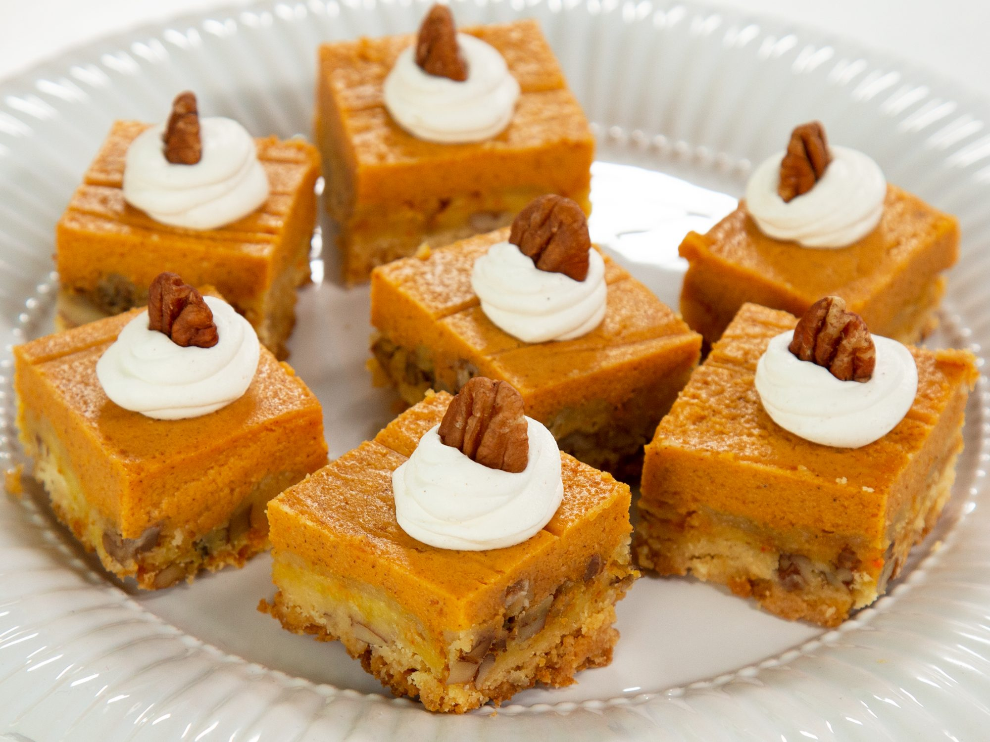 Easy Pumpkin Pie Square-image