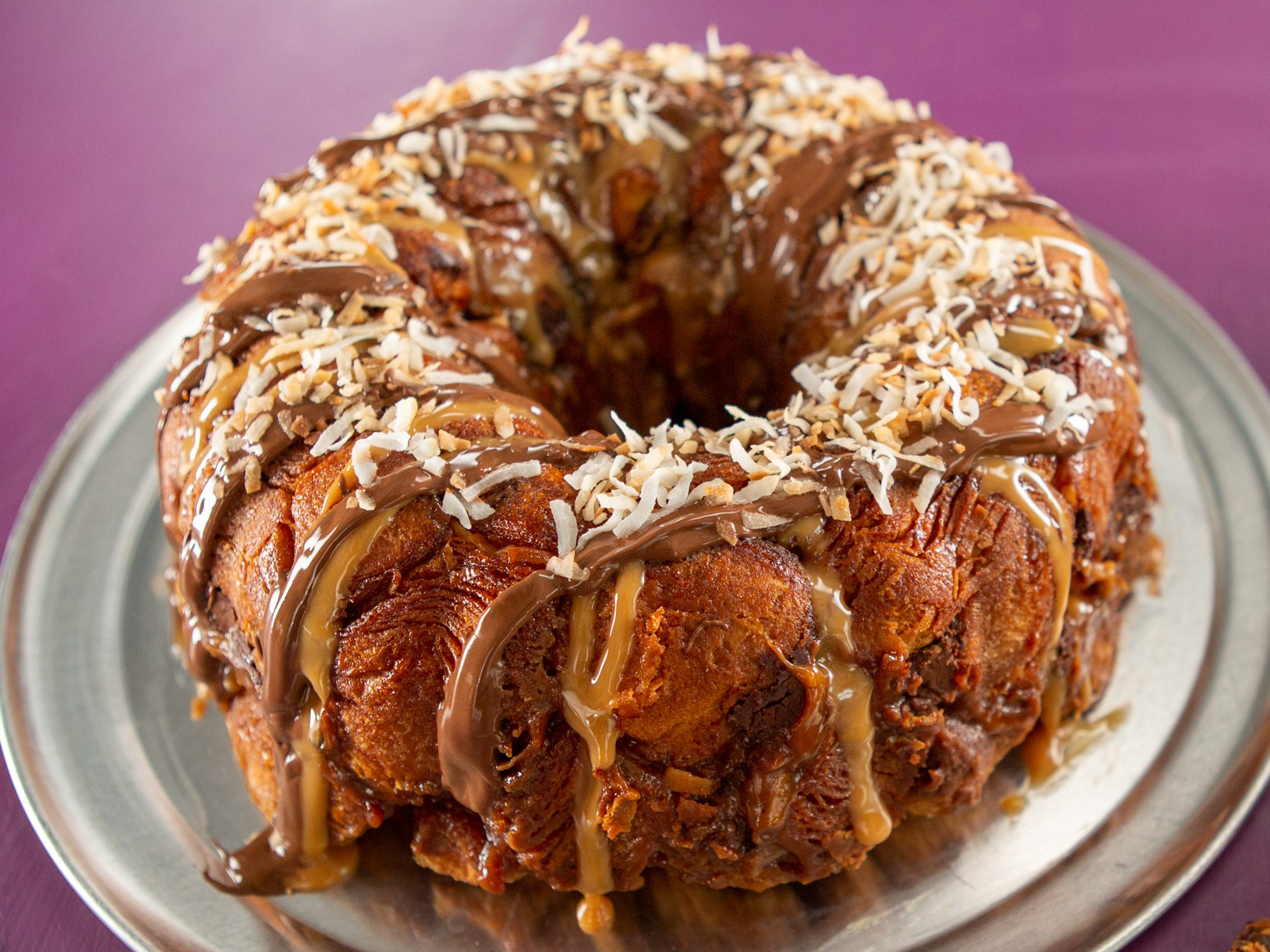 Samoas Cookie Monkey Bread image