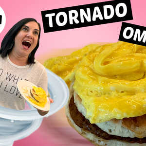 We Tried Making the Tornado Omelette