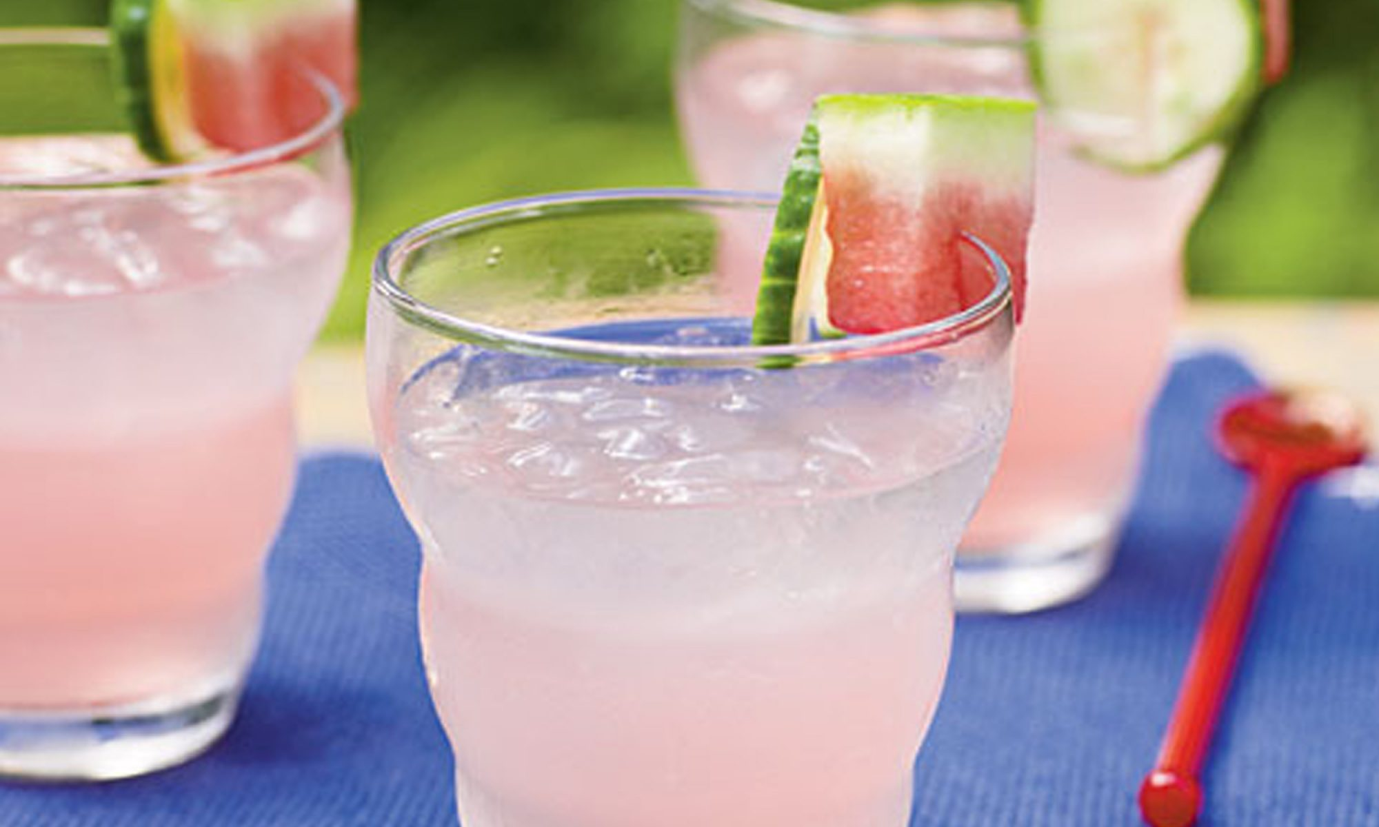 Watermelon-Cucumber Gin and Tonic