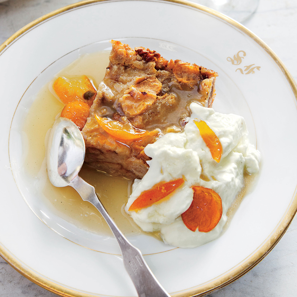 Orange Bread Pudding