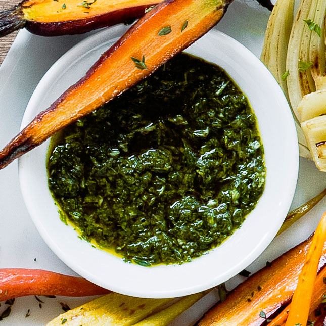 Lime and Basil Chimichurri