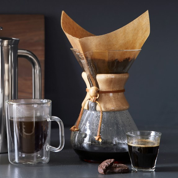 Chemex® Pour-Over Glass Coffee Maker with Wood Collar