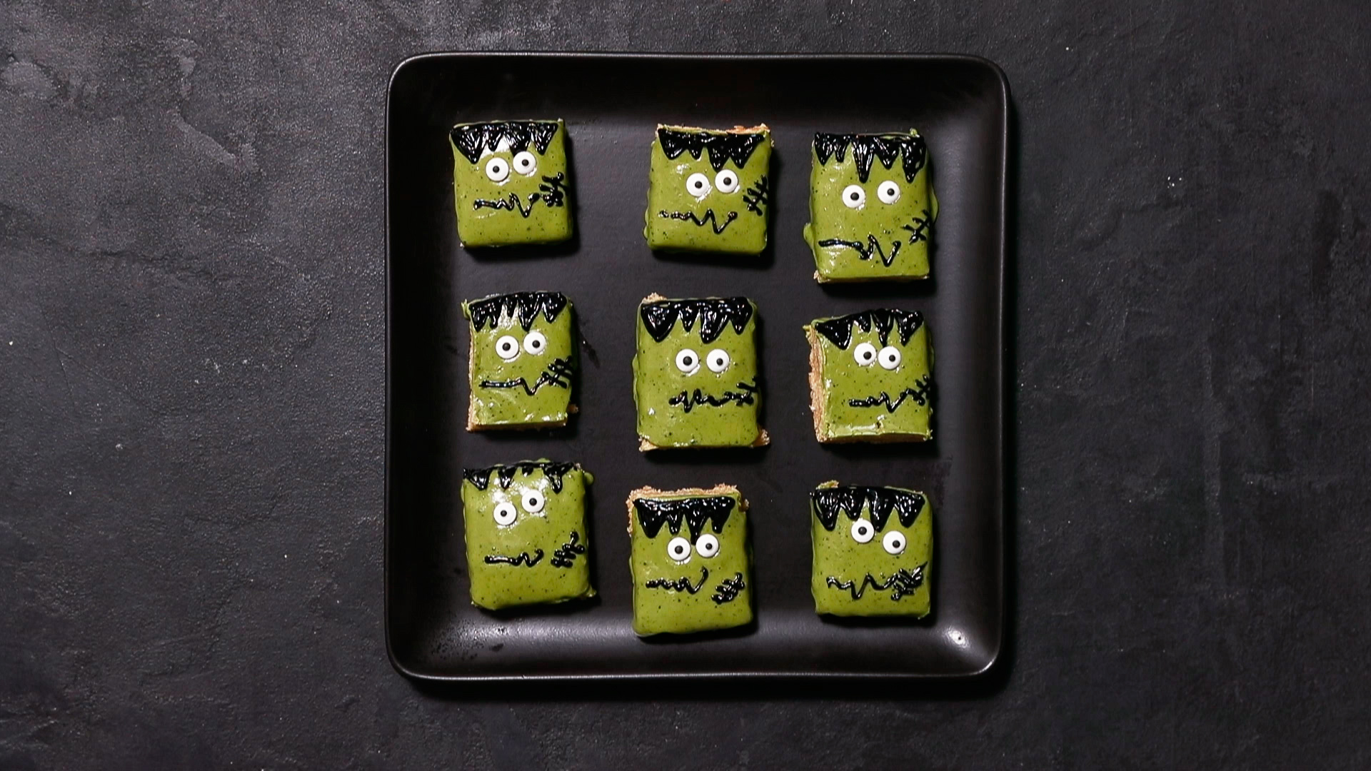 su-Frankenstein Cookie Bars