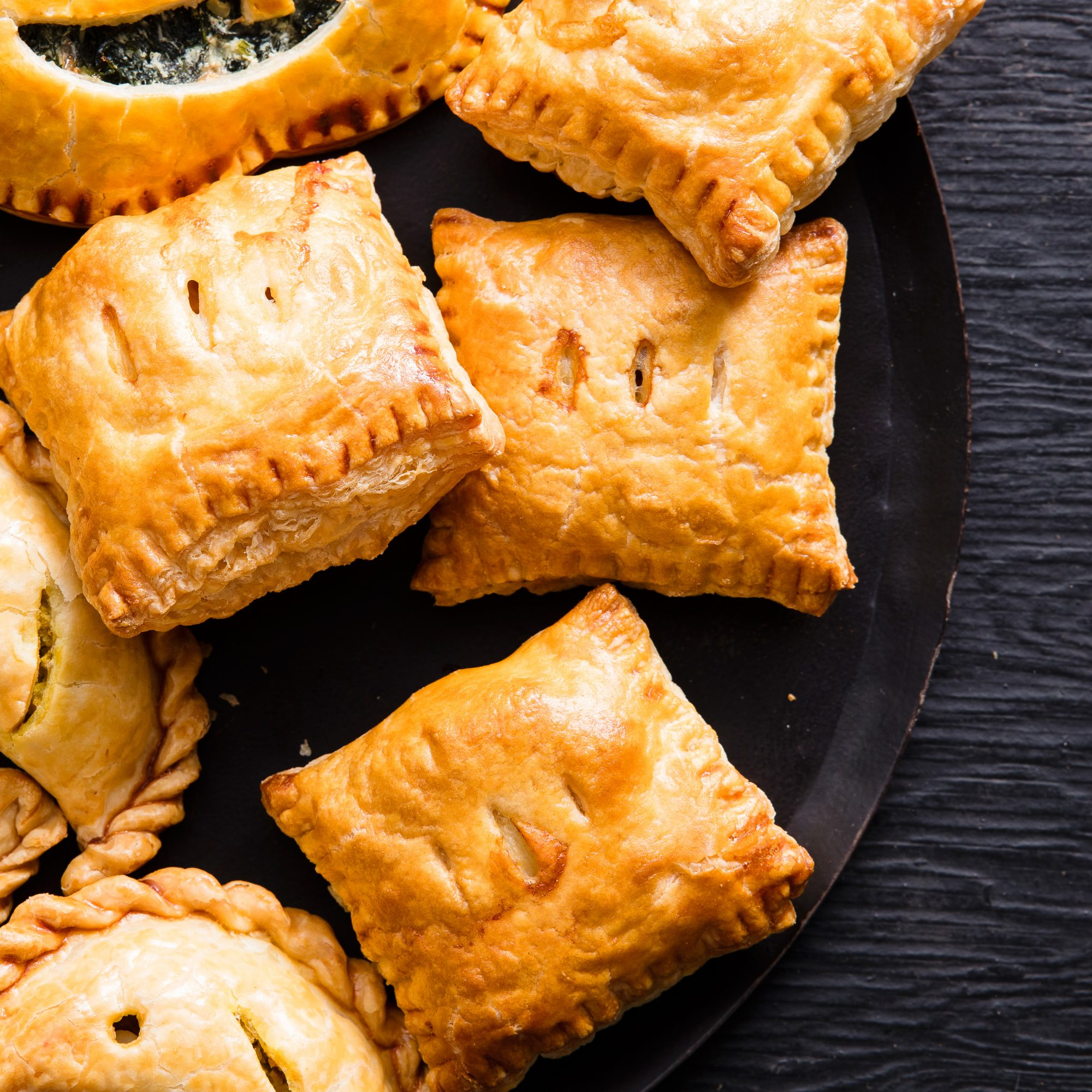 Halloween Ham and Cheese Hand Pies