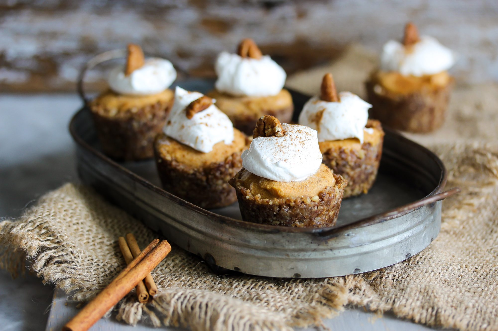 Mini Vegan Pumpkin Spice Bites