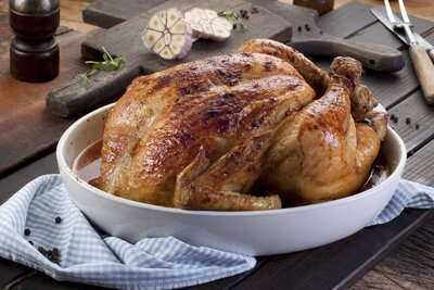 Are You Cooking Your Chicken Upside-Down? | MyRecipes