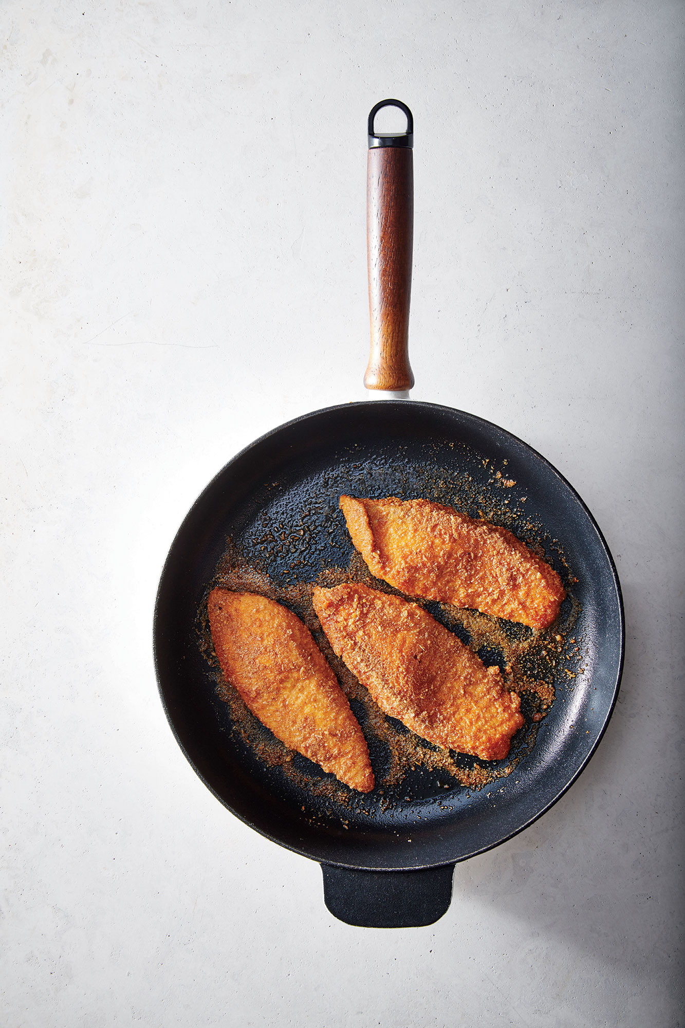 almond-and-flax-crusted-fish