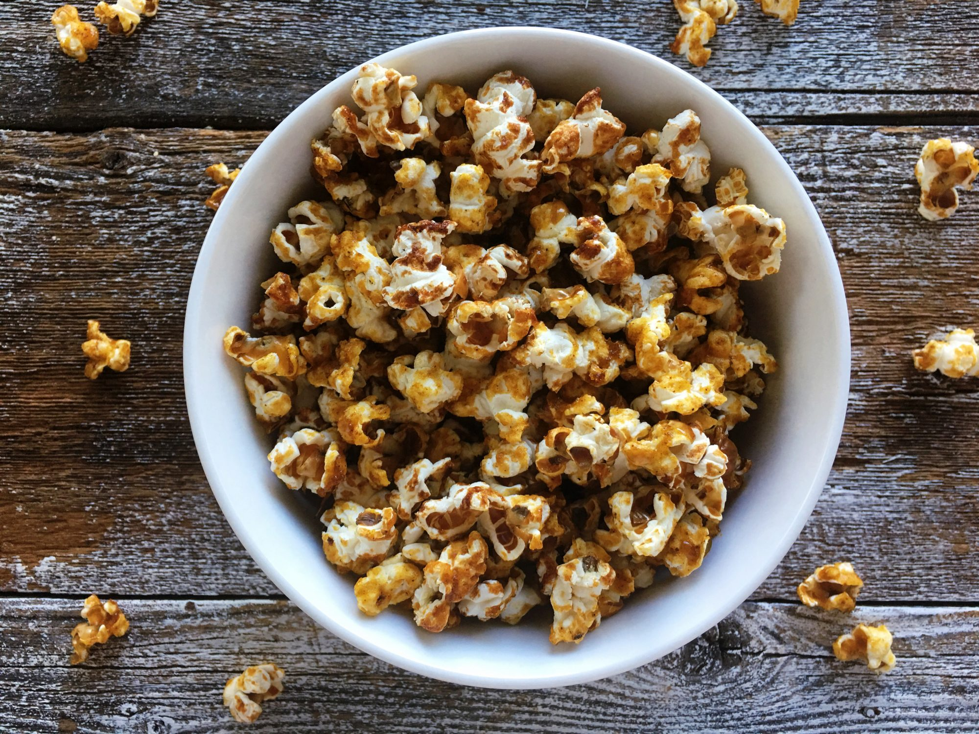 Pumpkin Maple Popcorn