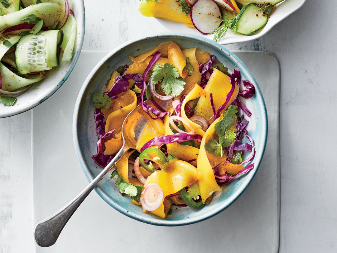 Shaved Mango-and-Cabbage Salad