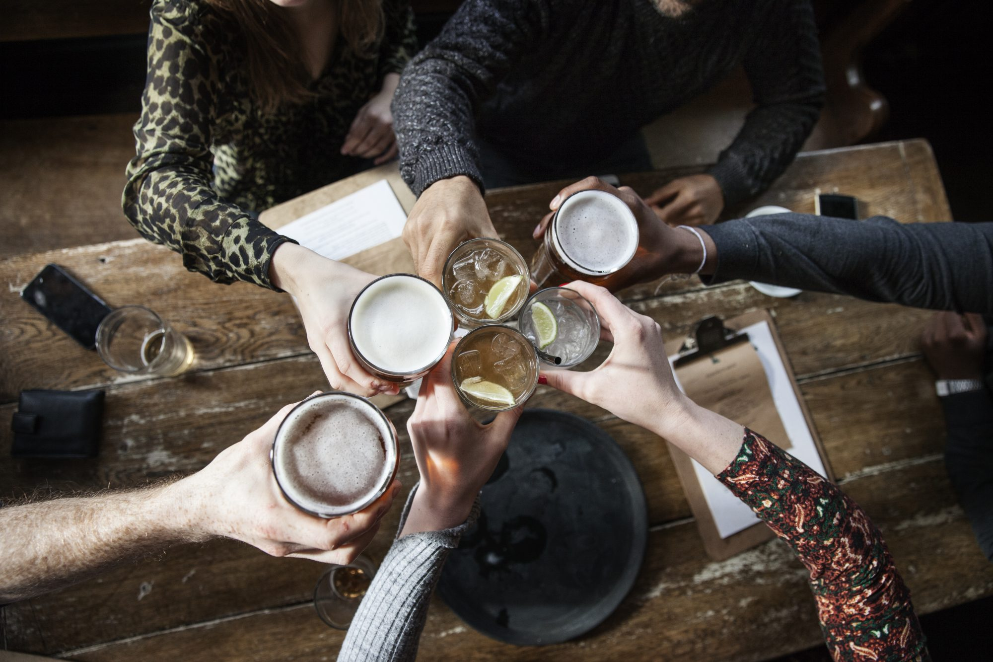 9 Not-Boring Drinks to Order at the Bar During Dry January Image