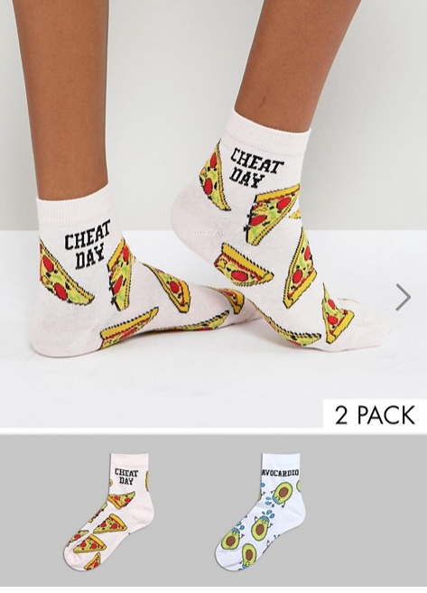 Asos Pizza Socks