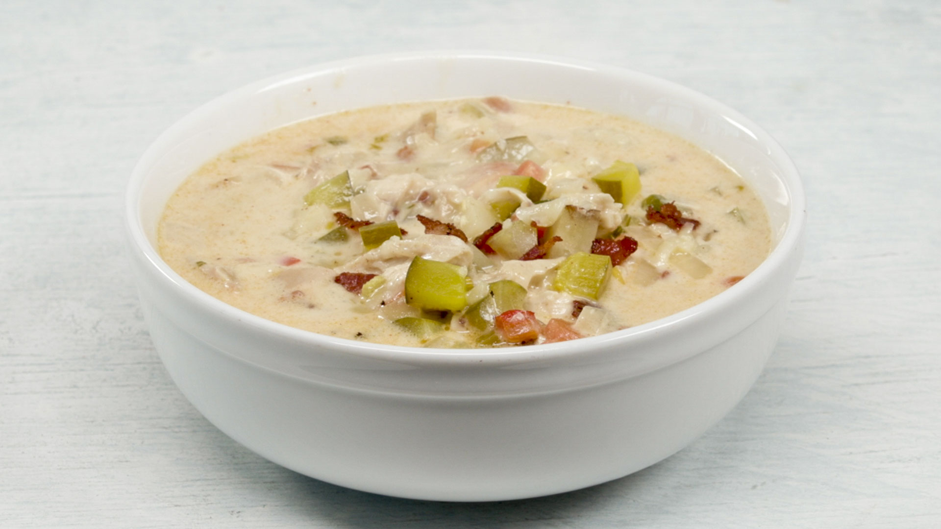Pickle Chicken Chowder