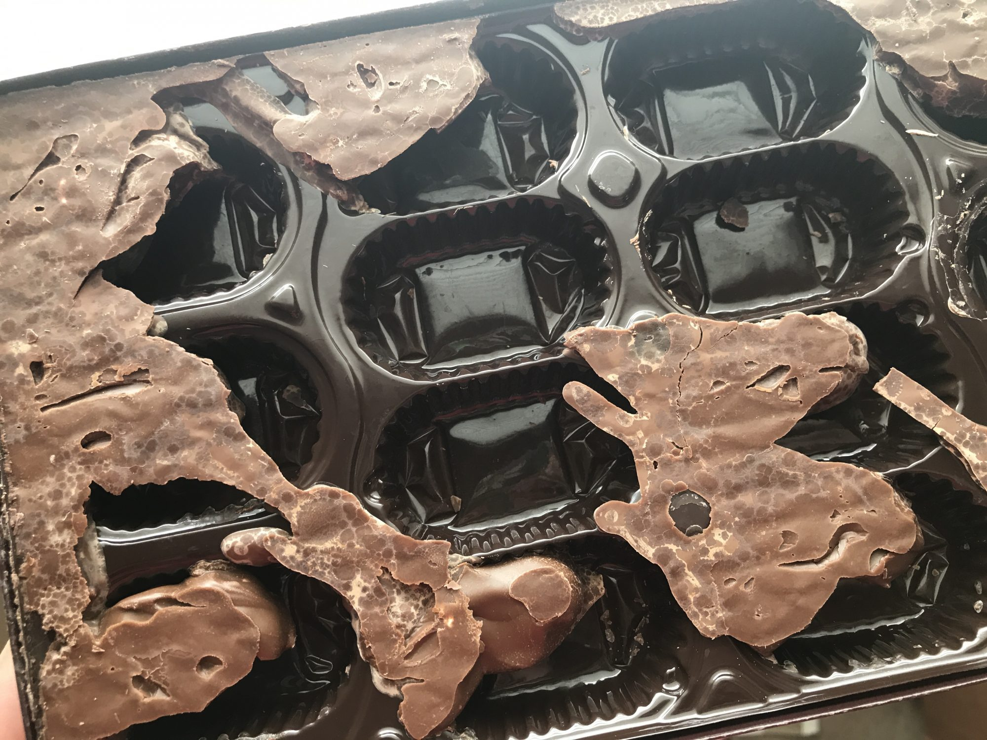 melted chocolate image