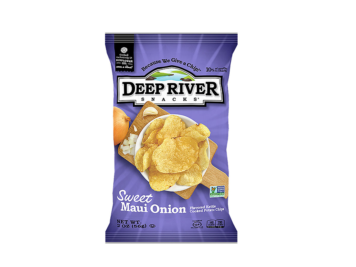 Sweet Maui Onion Kettle Cooked Potato Chips