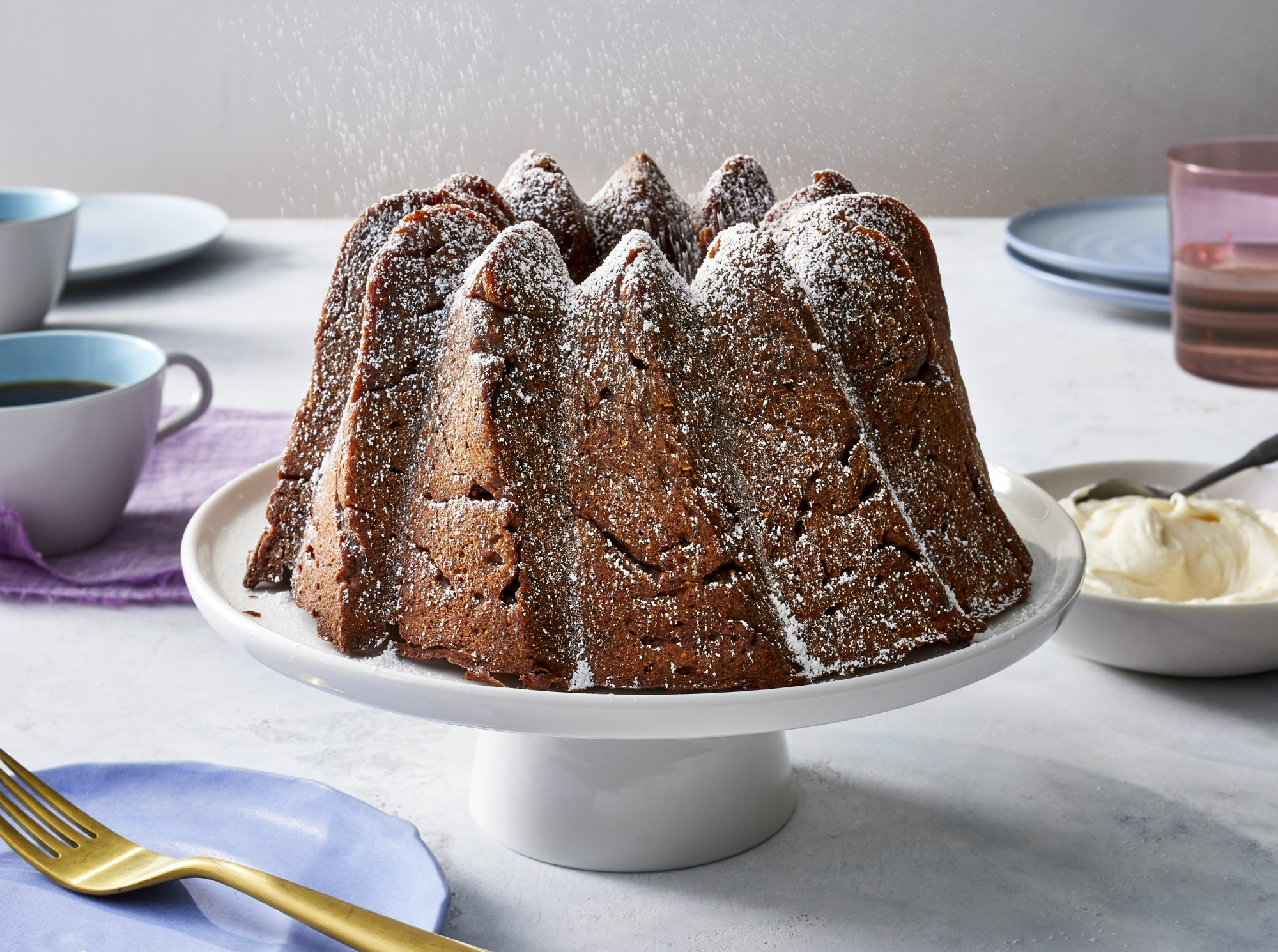 Brown-Butter Figgy Pudding