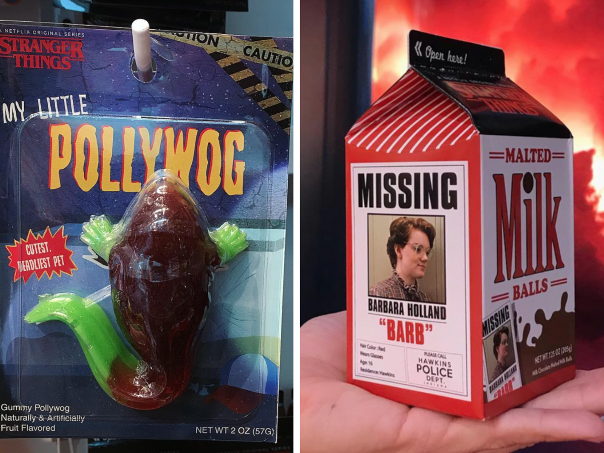 stranger things candy