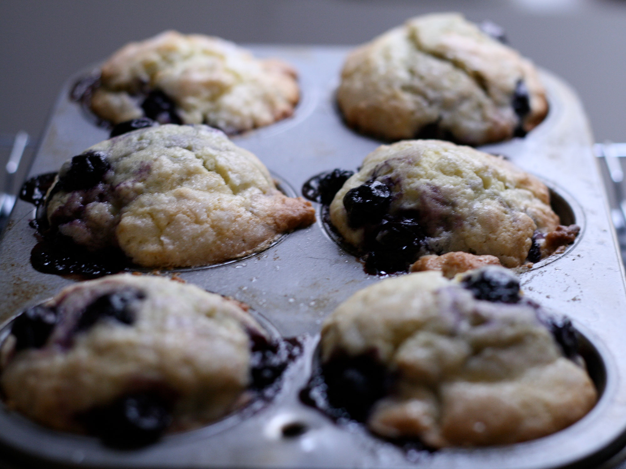 Heritage Corn and Berry Muffins