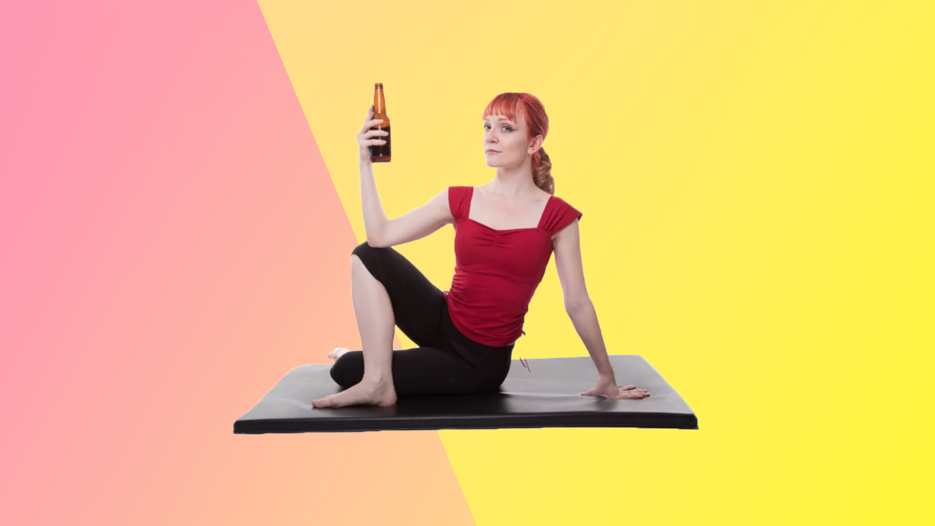 'Rage Yoga' Class Lets You Swear and Drink Beer to Get in the Yoga Flow