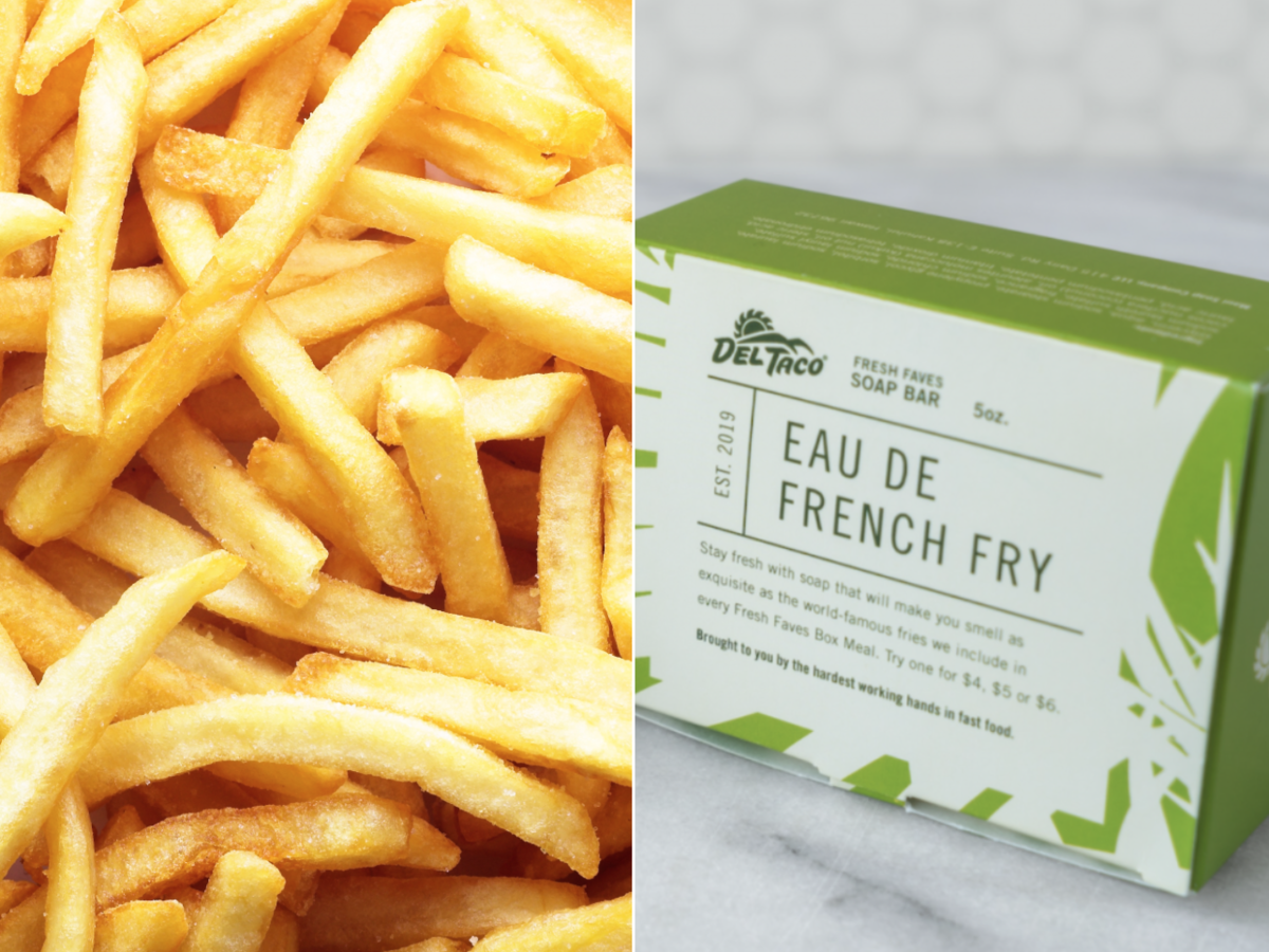 French fry soap