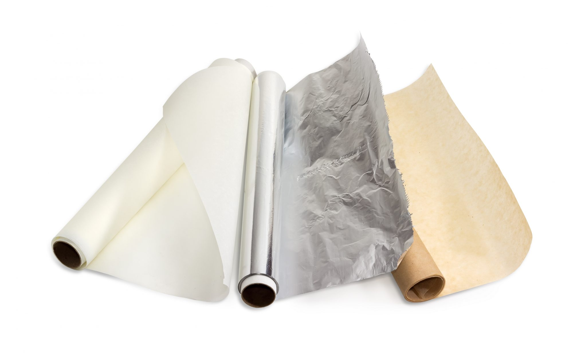 A Guide to Using Parchment Paper, Wax Paper, and Aluminum Foil