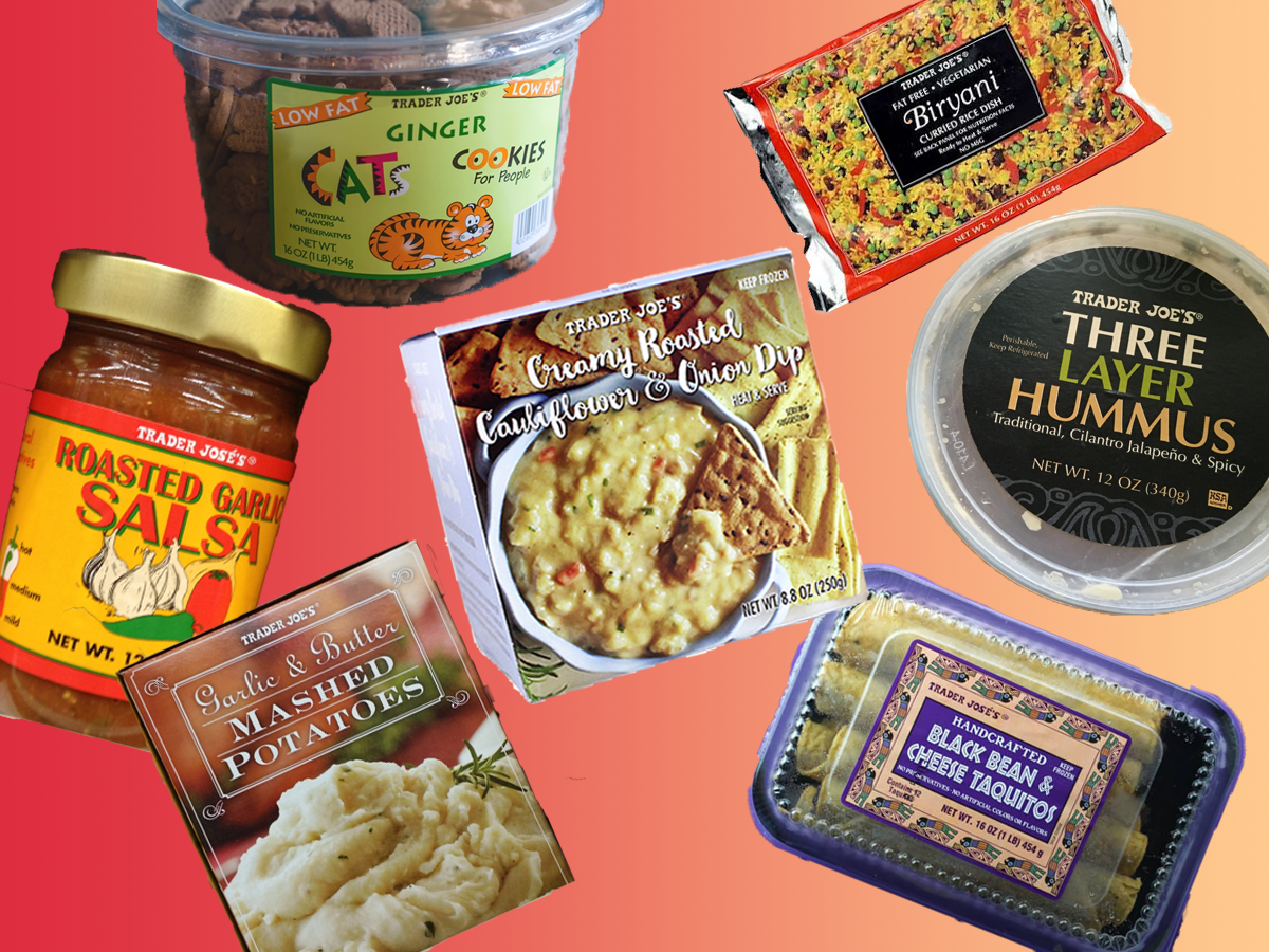 Trader Joe's discontinued items