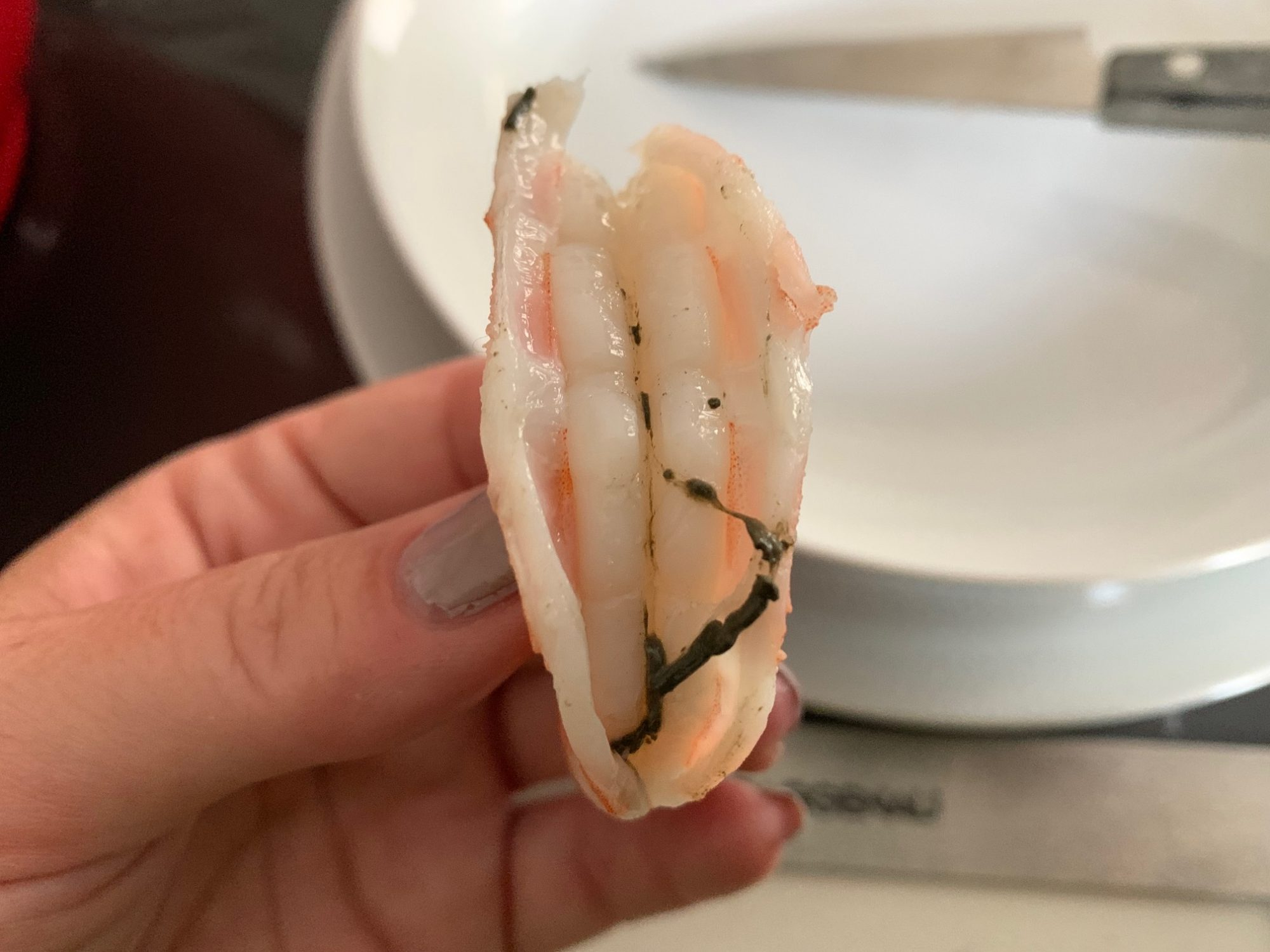 deveined cooked shrimp
