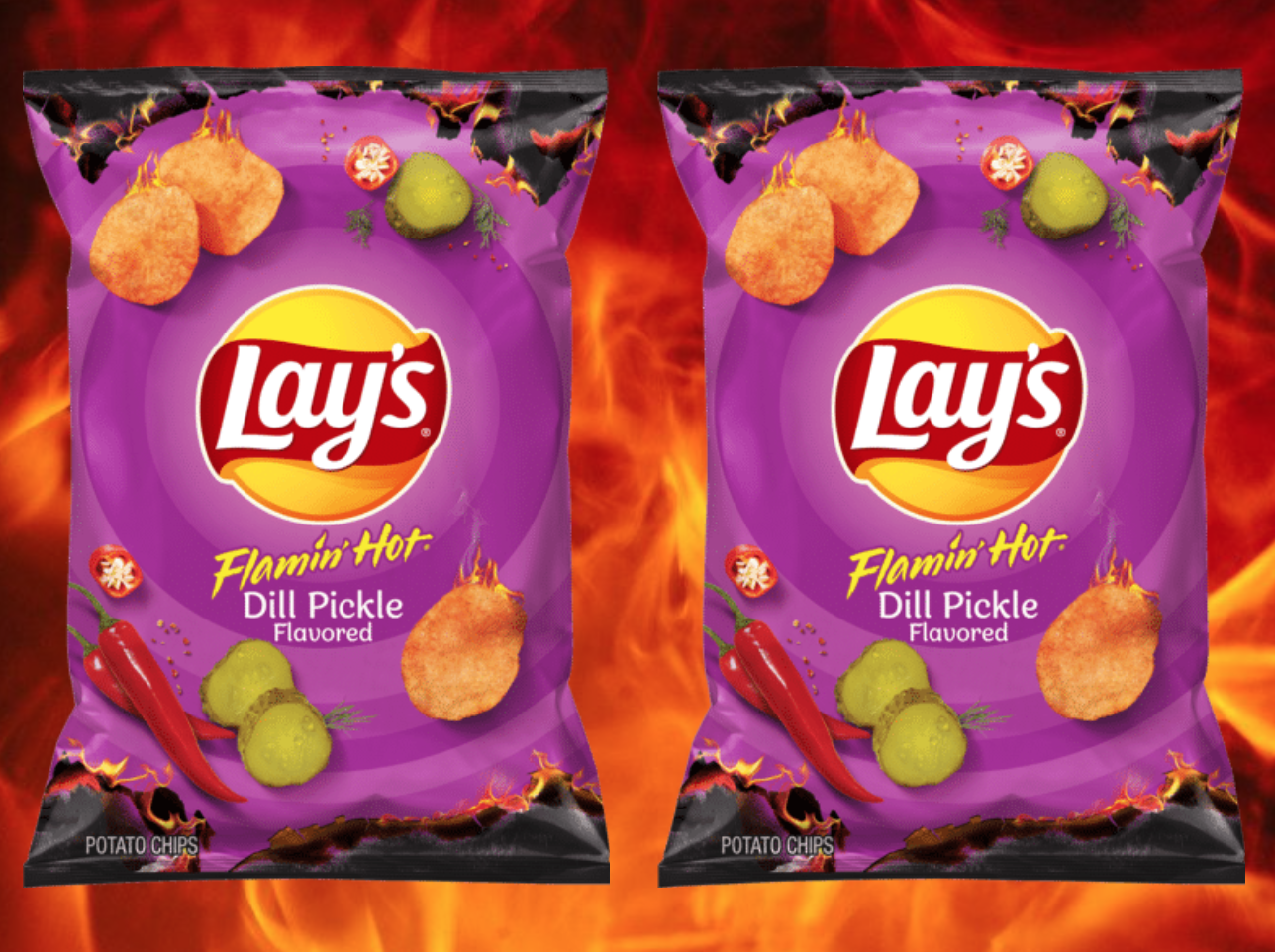 Flamin' Hot Dill Pickle