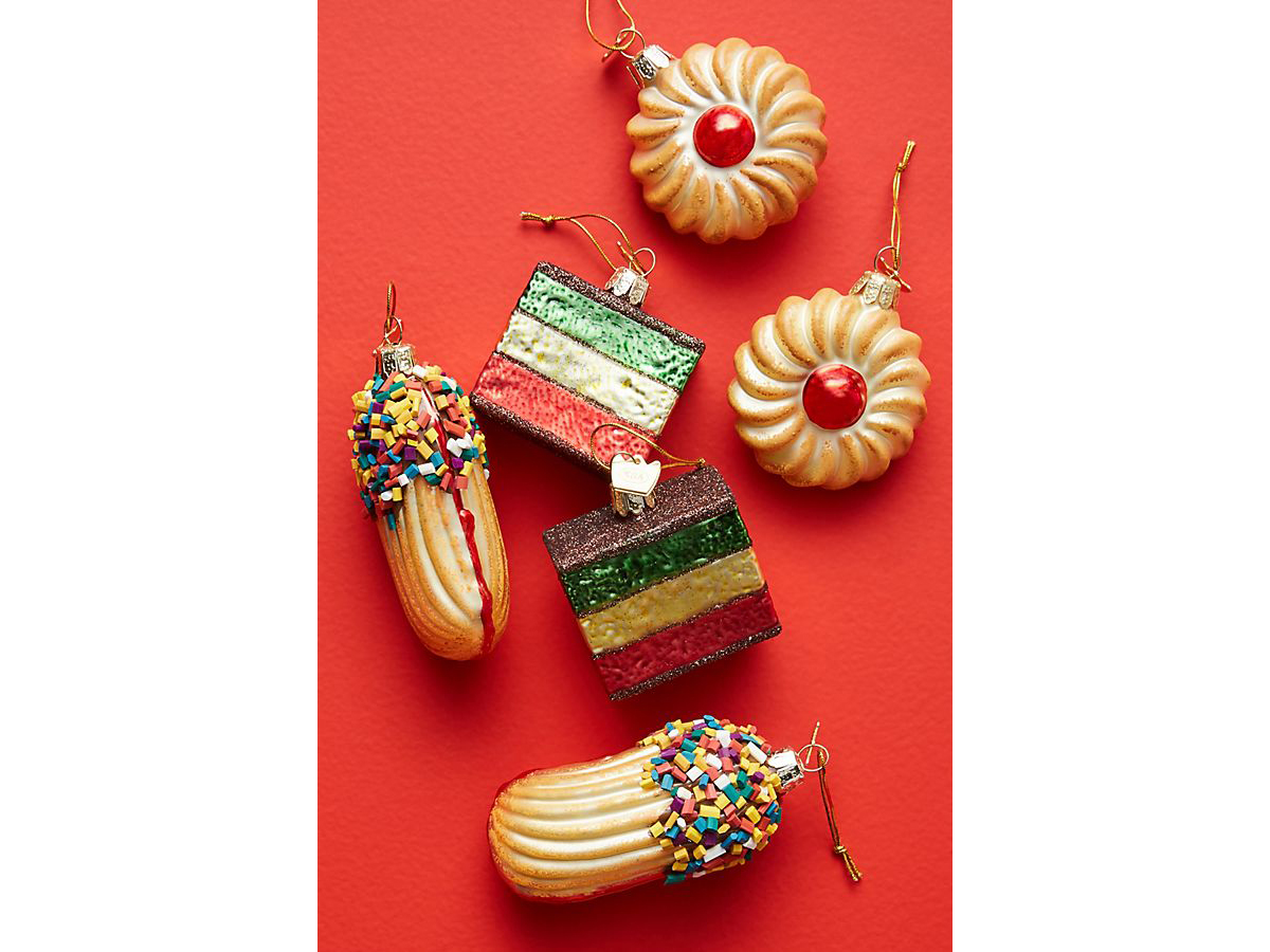 Italian Cookie Ornaments, Set of 6