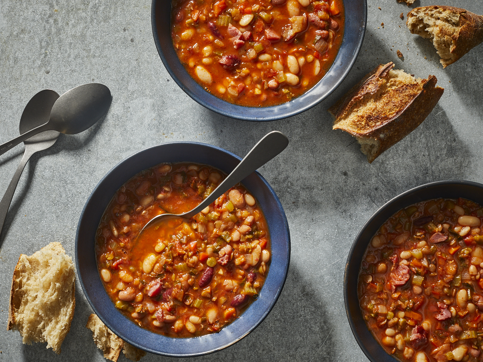 mr-Ham and Bean Soup Image