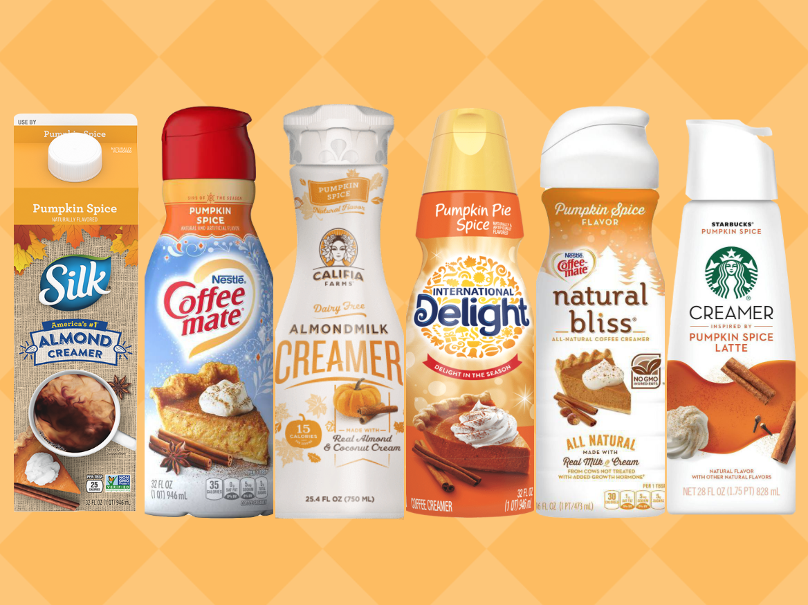 We Tried 6 Pumpkin Spice Coffee Creamers and This Was the Best