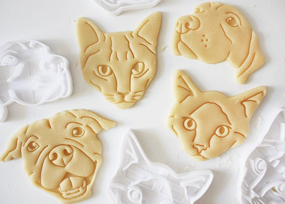 You Can Get Cookie Cutters That Look Just Like Your Pets on Etsy